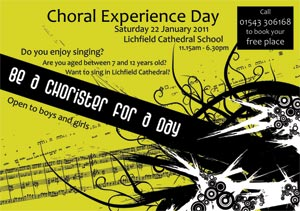 Be a Chorister for a Day 2011